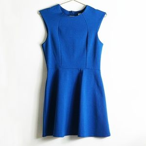 Urban Outfitters Cobalt Blue Skater Dress L
